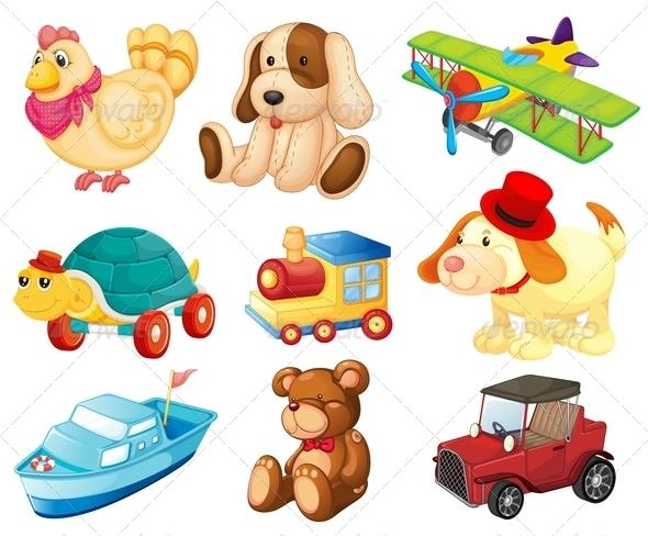 GraphicRiver Toys 7995929