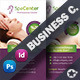 Spa House Business Card Templates - GraphicRiver Item for Sale