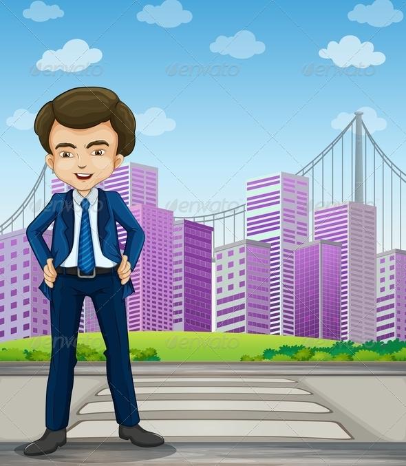 GraphicRiver Businessman 7996226