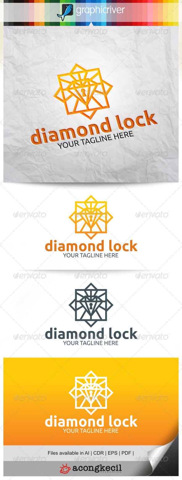 GraphicRiver Diamond Lock V.2 7996326