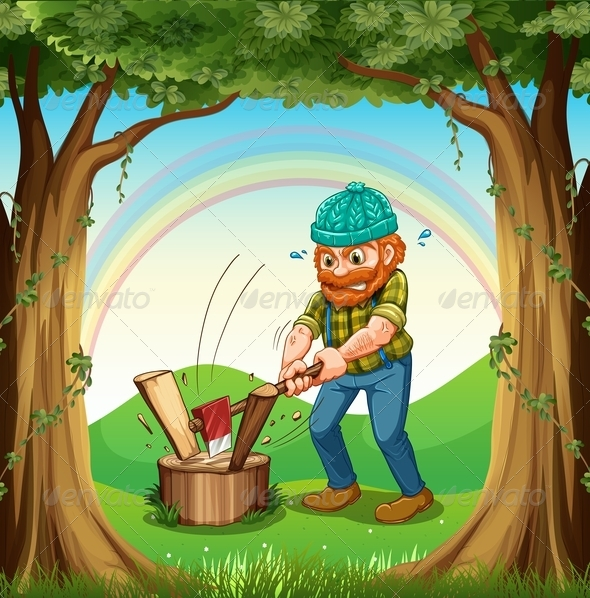 GraphicRiver Lumberjack 7996426
