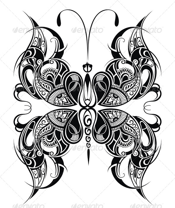 GraphicRiver Butterfly 7996521