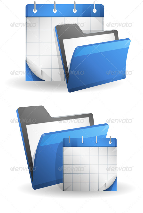 GraphicRiver Organizer Folder Illustration 7996522