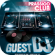 Guest DJ Flyer Template Vol 2 - GraphicRiver Item for Sale