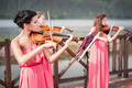 Girls Plays Violin - PhotoDune Item for Sale