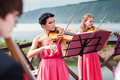 Girls Plays Violins - PhotoDune Item for Sale
