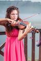 Woman plays violin - PhotoDune Item for Sale