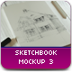 Sketch & Charcoal Mockup 3 - GraphicRiver Item for Sale