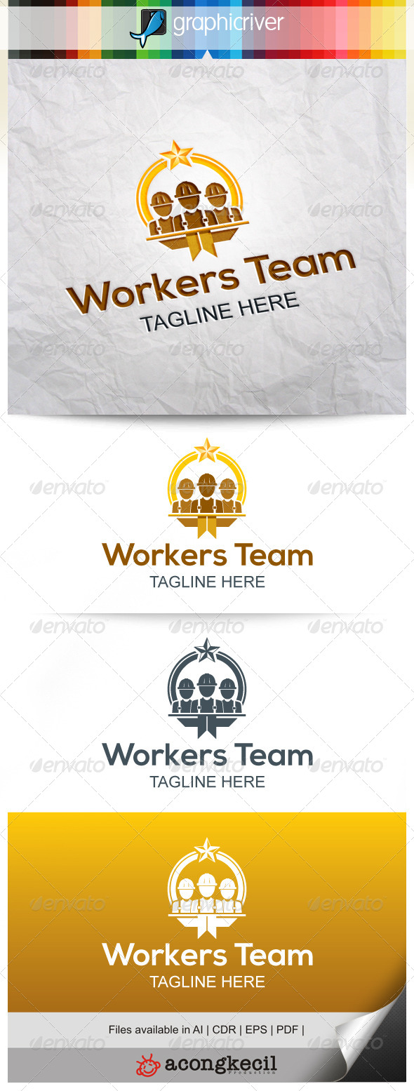 GraphicRiver Workers Team 7997720
