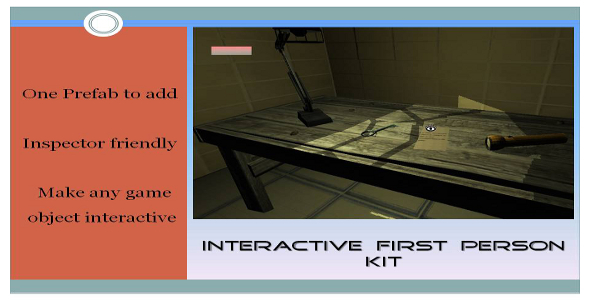 Interactive First Person Kit - ActiveDen Item for Sale