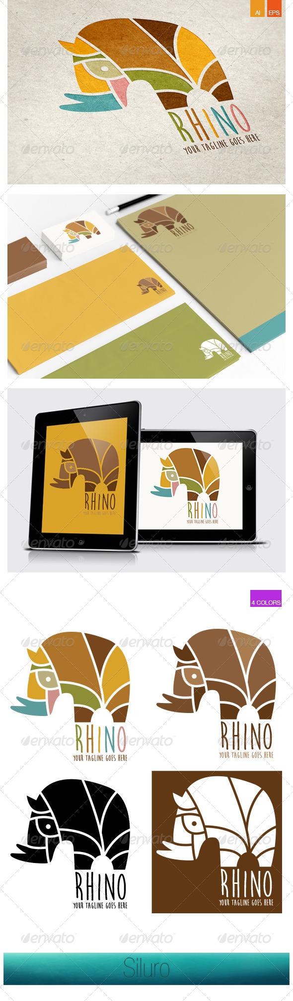GraphicRiver Rhino Logo 7998302