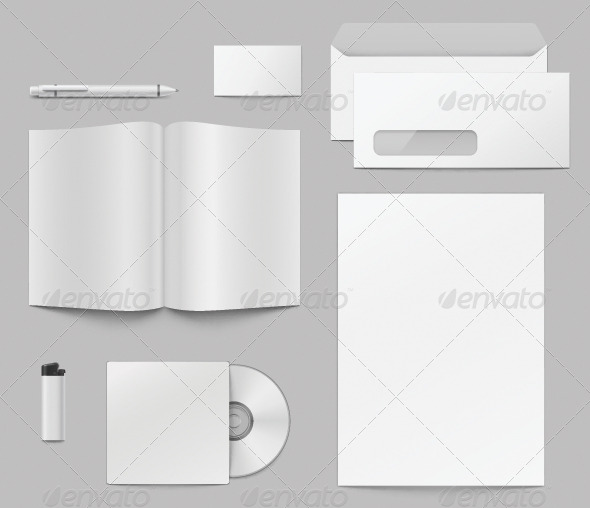 GraphicRiver Corporate Identity Elements 7998568