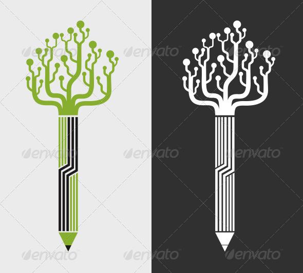 GraphicRiver Smart Pencil 7998616