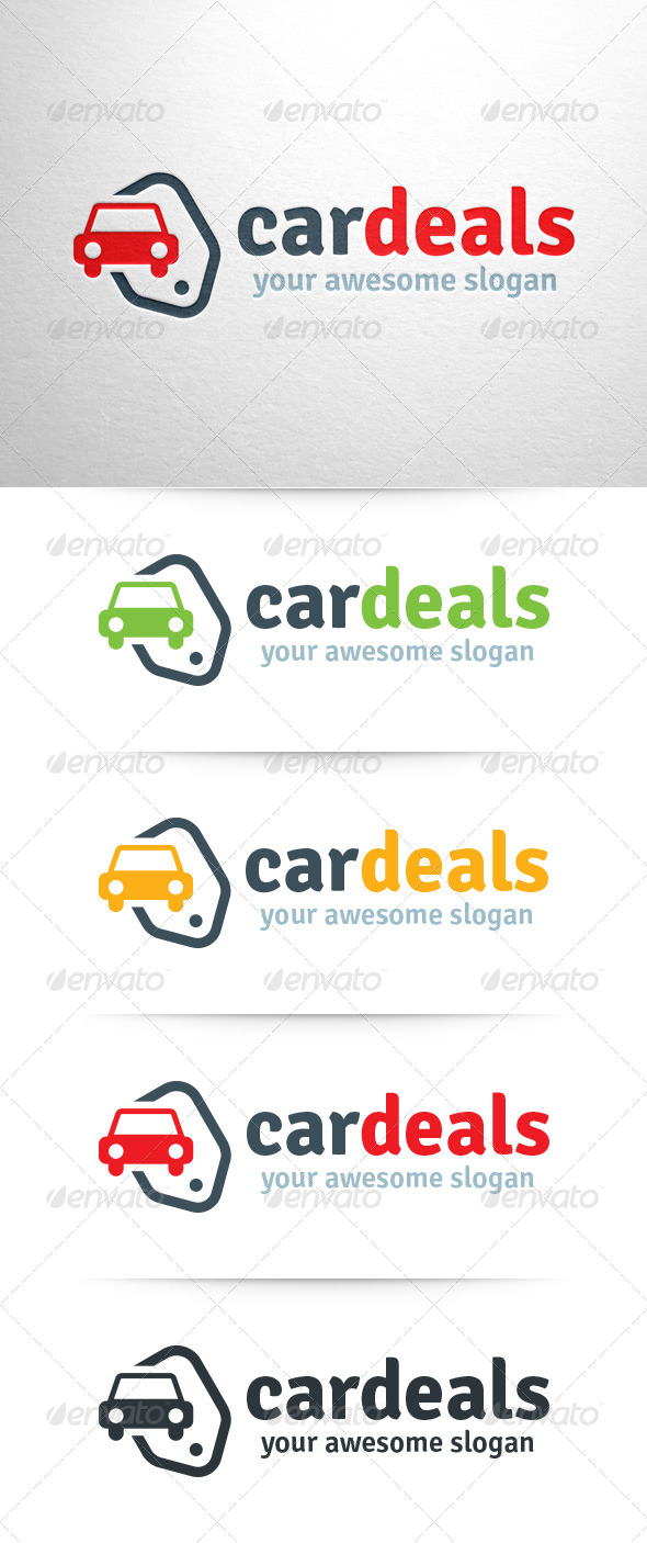 GraphicRiver Car Deals Logo Template 7998621