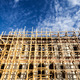 Scaffolding on a construction site of an old building in Istanbu - PhotoDune Item for Sale