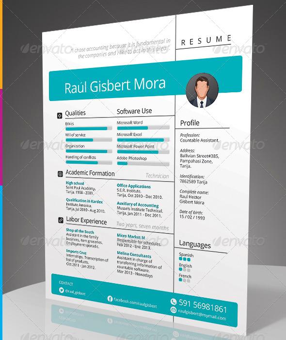 GraphicRiver Versatile Resume 7882060