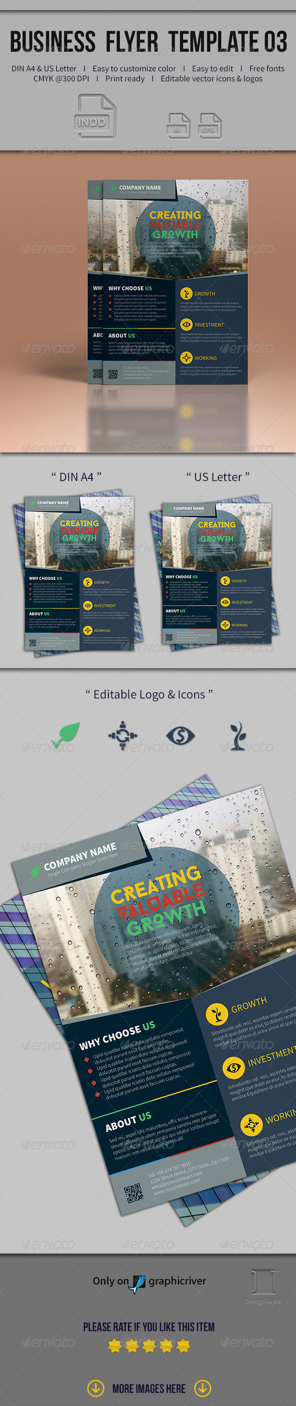 GraphicRiver Business Flyer Template 03 7978739