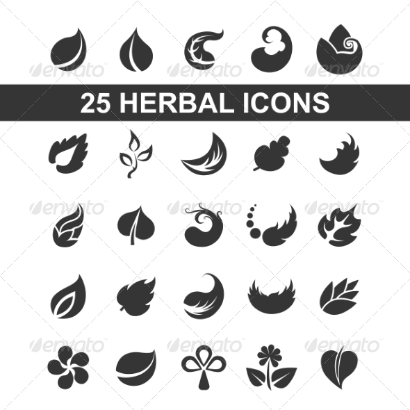 GraphicRiver Leaf Icons 7999022