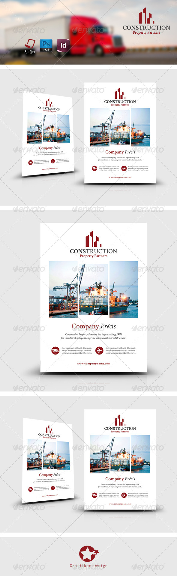 GraphicRiver International Flyer Templates 7999094