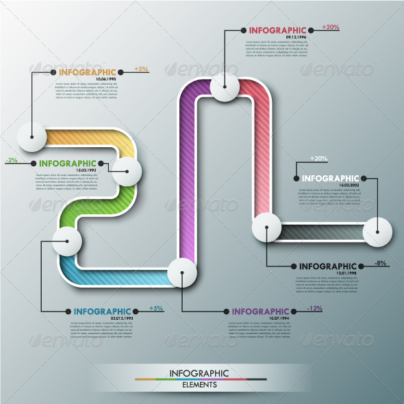 GraphicRiver Modern Infographic Timeline 7999312