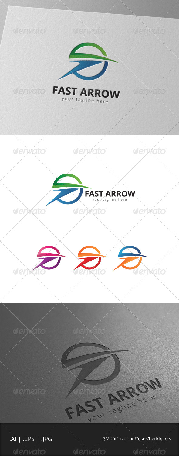 GraphicRiver Fast Arrow Logo 7999478