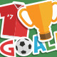 Soccer Stickers - GraphicRiver Item for Sale