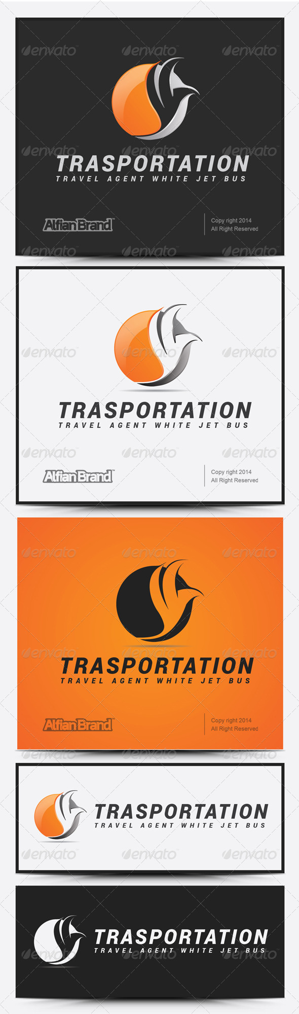 GraphicRiver Transportation logo 7999945