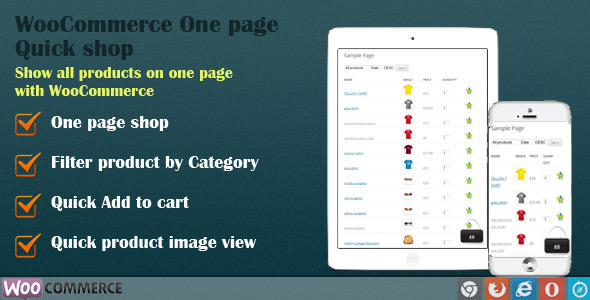 CodeCanyon WooCommerce One Page Quick Shop 8000085