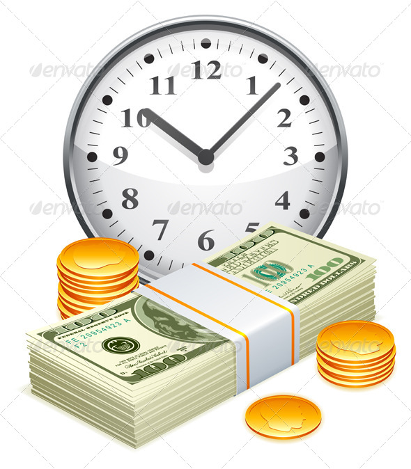 GraphicRiver Time is Money Concept 8000208