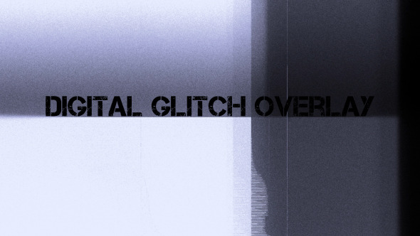 Digital Glitch Overlay 2