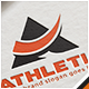 Athletic Letter A Logo - GraphicRiver Item for Sale