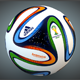 Brazuca Soccer Ball 3D Model - 3DOcean Item for Sale