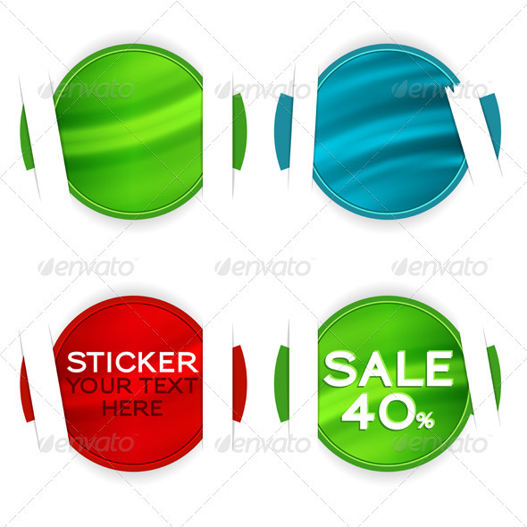 Graphic River Collect Sticker Vectors -  Conceptual  Commercial / Shopping  Retail 815697