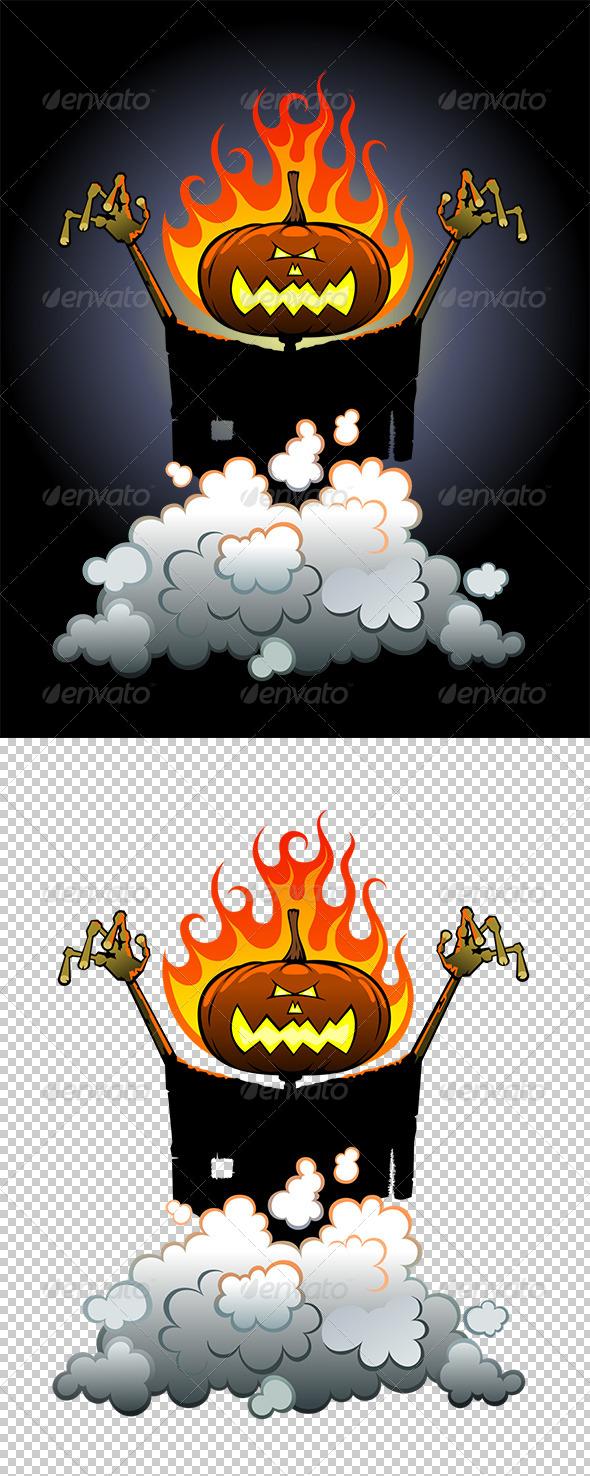 GraphicRiver Jack O Lantern 8001365