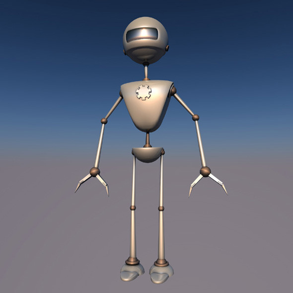 3DOcean RobotX-JV1.0 Rigged 8001775