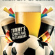 Soccer Football Bar Flyer Menu Template - GraphicRiver Item for Sale