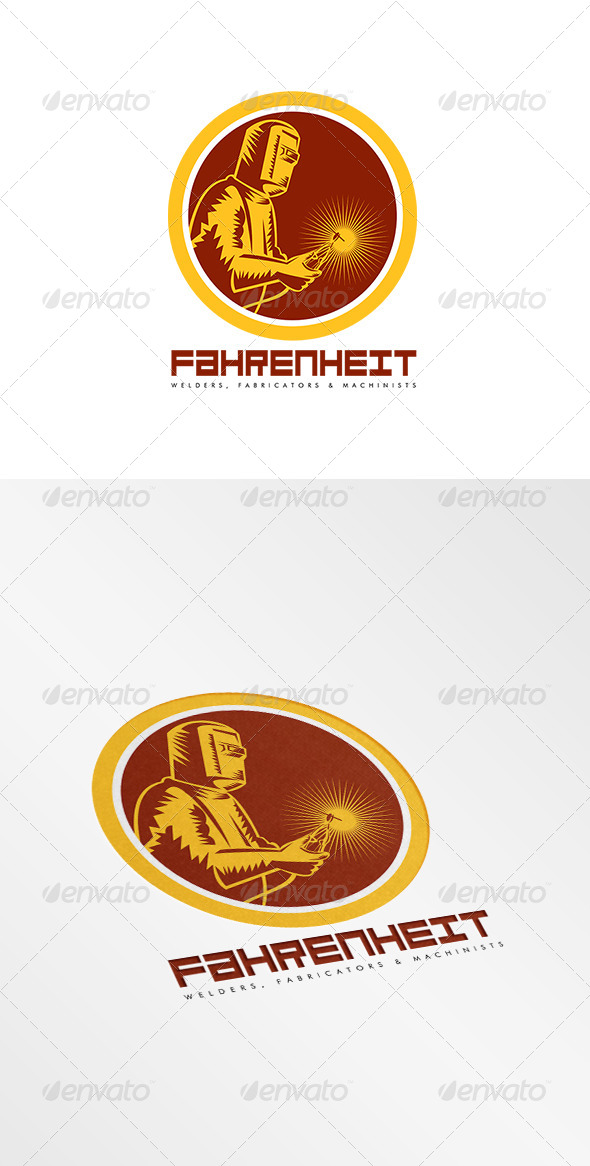 GraphicRiver Fahrenheit Welders Logo 8002295