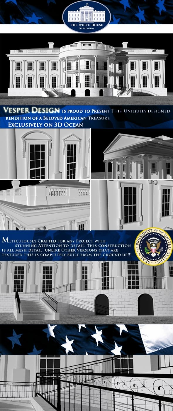 3DOcean The White House 8002667