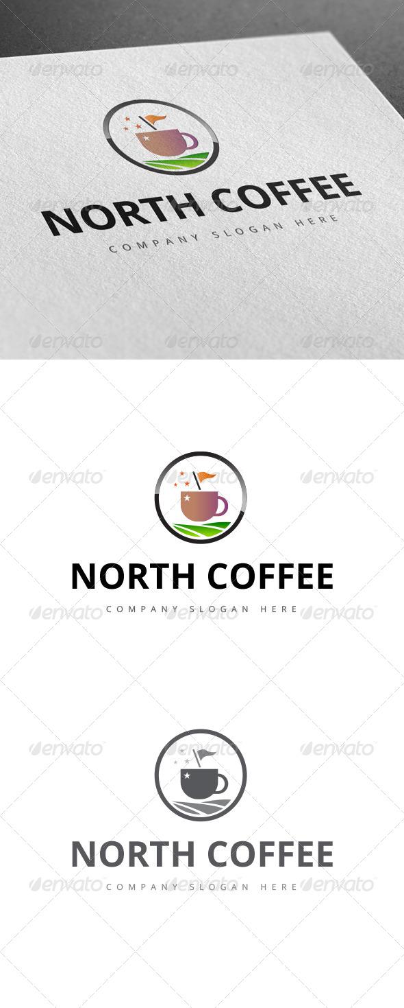 GraphicRiver North Coffee Logo 8002744