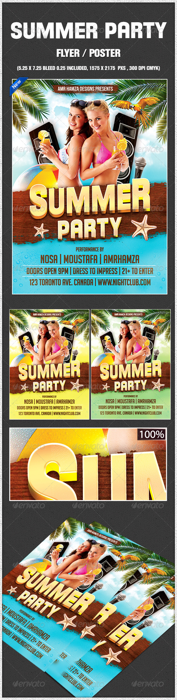 GraphicRiver Summer Party 7989698