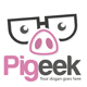 Pig Geek Logo Template - GraphicRiver Item for Sale