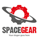 Space Gear Logo Template - GraphicRiver Item for Sale