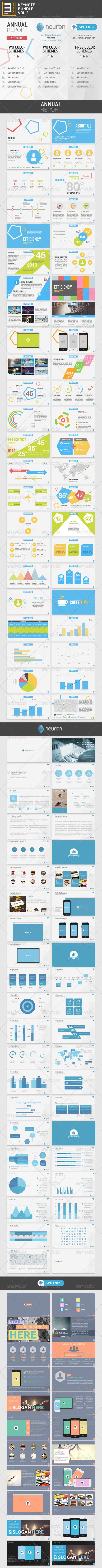 GraphicRiver 3-in-1 Keynote Bundle Vol.2 7983226