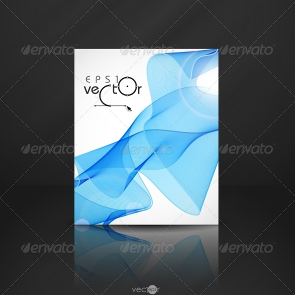 GraphicRiver Abstract Waves Design 8004307