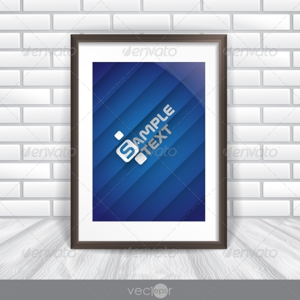 GraphicRiver Photo Frame On The Wall 8004312