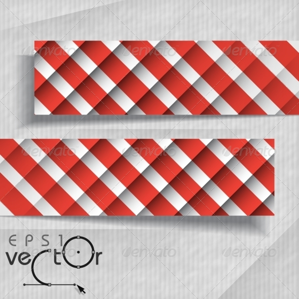 GraphicRiver Abstract Banners With Place For Your Text 8004333