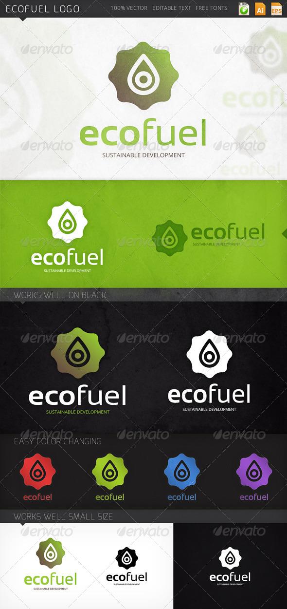 GraphicRiver Ecofuel Logo 8004345