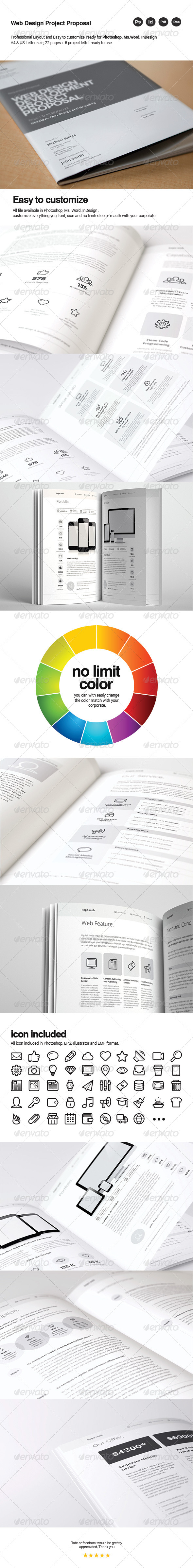 GraphicRiver Web Design Proposal 8004480