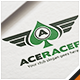 Ace Racer Logo - GraphicRiver Item for Sale