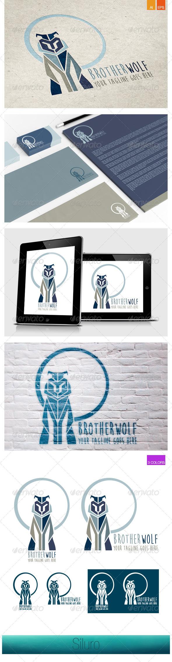 GraphicRiver BrotherWolf Logo 8005376